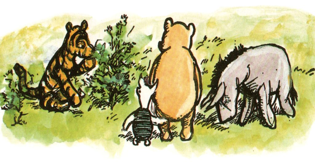 Story time and craft: Winnie the Pooh